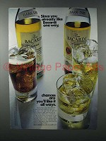 1971 Bacardi Rum Ad - You Already Like Bacardi One Way
