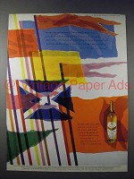 1958 Grant's Scotch Ad - Our Ancient Banners Flew