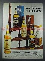 1973 Bell's Scotch Ad, Blair Athol, Inchgower, Dufftown