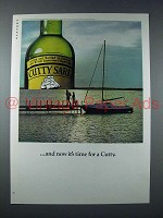 1976 Cutty Sark Scotch Ad - Now it's Time for a Cutty
