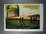 1976 Cutty Sark Scotch Ad - And Now it's Time for a Cutty