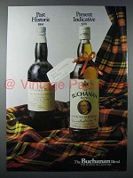 1979 Buchanan Blend Scotch Ad - Present Indicative