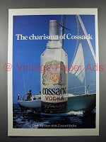 1977 Cossack Vodka Ad - Charisma