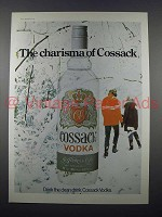 1977 Cossack Vodka Ad - The Charisma