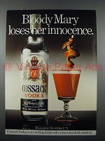 1979 Cossack Vodka Ad - Bloddy Mary Loses Innocence