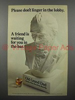 1968 Old Grand Dad Bourbon Whiskey Ad - Don't Linger