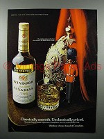 1975 Windsor Canadian Whisky Ad - Classically Smooth