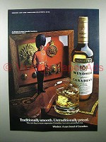 1975 Windsor Canadian Whisky Ad - Traditionally Smooth