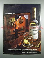 1976 Windsor Canadian Whisky Ad - Smooth
