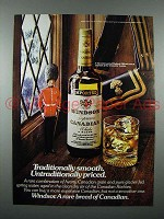 1976 Windsor Canadian Whisky Ad