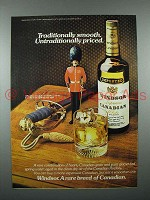 1977 Windsor Canadian Whisky Advertisement- Traditionally Smooth