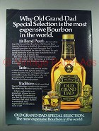 1980 Old Grand-Dad Special Selection Bourbon Whiskey Ad