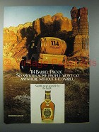 1982 Old Grand Dad Special Selection Bourbon Whiskey Ad
