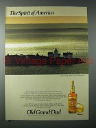 1983 Old Grand Dad Bourbon Ad - Dick Durrance II