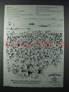 1986 Jameson Irish Whiskey Ad - When You Ask For
