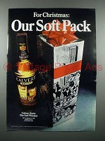 1971 Calvert Whiskey Ad - Our Soft Pack