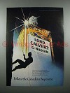 1977 Lord Calvert Canadian Whisky Ad - Superstar