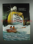 1978 Lord Calvert Canadian Whisky Ad