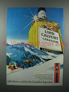 1978 Lord Calvert Canadian Whisky Ad - Superstar