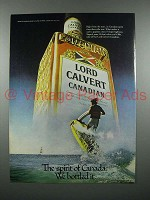 1979 Lord Calvert Canadian Whisky Ad