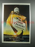 1979 Lord Calvert Canadian Whisky Ad - Spirit of Canada
