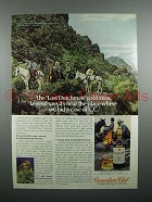 1978 Canadian Club Whisky Ad - Lost Dutchman Gold Mine