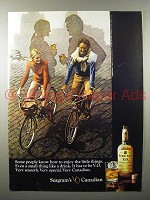 1970 Seagram's V.O. Canadian Whisky Ad - Enjoy