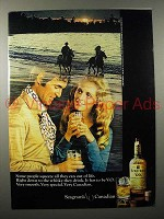 1970 Seagram's V.O. Canadian Whisky Ad - Squeeze