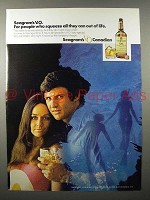 1971 Seagram's V.O. Canadian Whisky Ad - Squeeze