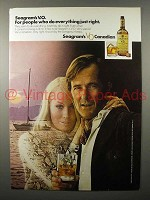 1971 Seagram's V.O. Canadian Whisky Ad - Just Right