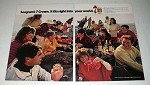 1971 Seagram's 7 Crown Whiskey Ad - Into Your World