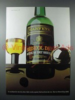 1973 Harvey's Bristol Dry Sherry Ad - Separate Best