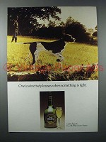 1976 Croft Original Sherry Ad - Instinctively Knows