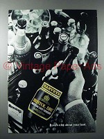 1977 Harvey's Bristol Dry Sherry Ad - Says a Lot