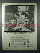 1977 Sandeman Partners' Port Ad - Hardly Been Fitting