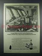 1977 Sandeman Partners' Port Ad - Remain Seated