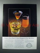 1978 Almaden Sherry Ad - Some of Our Finest Wines