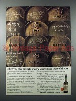 1978 Domecq Double Century Sherry Ad - Visitors