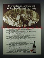 1978 Domecq Double Century Sherry Ad - Effects