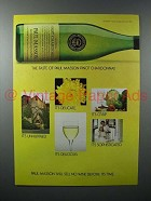 1981 Paul Masson Pinot Chardonnay Wine Ad - The Taste