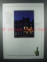 1984 Croft Original Sherry Ad - We've Been Burgled