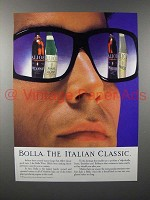 1989 Bolla Wine Ad - The Italian Classic