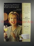 2000 Gallo Chardonnay Wine Ad - Really the Best