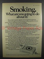 1972 Vantage Cigarette Ad - Smoking