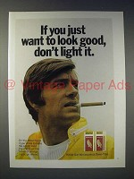 1970 White Owl Cigar Ad - If You Want to Look Good