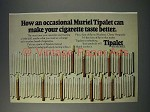 1973 Muriel Tipalet Cigar Ad - An Occasional