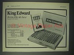 1977 King Edward Invincible de Luxe Cigar Ad