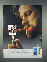 1985 Dutch Masters Dutch Treats Cigar Ad - A Treat