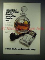 1973 Borkum Riff Pipe Tobacco Ad - Another Reason