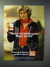 1977 Reemtsma R6 Cigarette Ad - in German